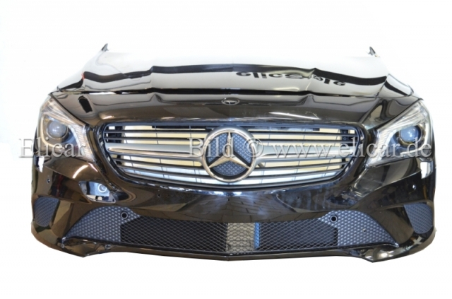 mercedes front sto f nger scheinwerfer haube kotfl gel grill f r cla w117 ebay. Black Bedroom Furniture Sets. Home Design Ideas
